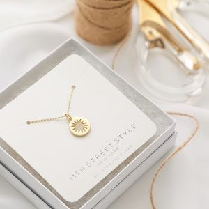 Sunshine Necklace | 14k Gold Plated